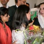 Benazir Bhutto in Oslo