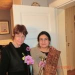 With Prof. Anne Hellum