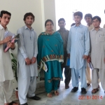 My students and me