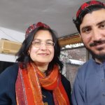 With Manzoor Pashteen