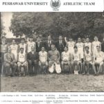 In athletic team 1954-55