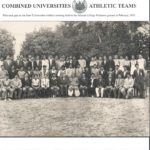 In athletic team 1955